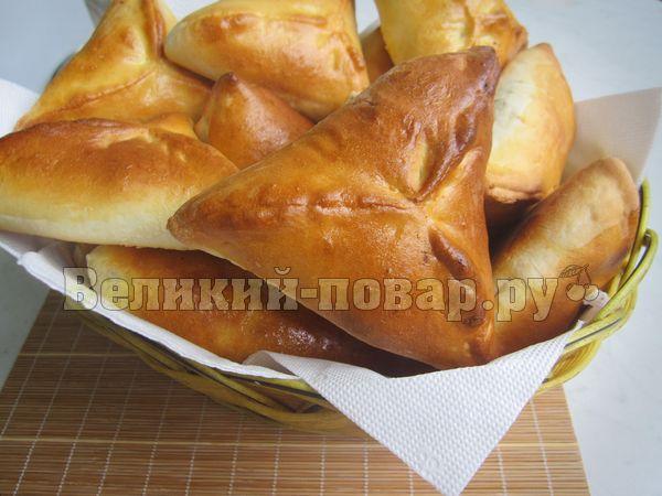 пирожки с куриной печенью рецепт