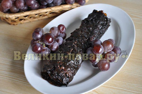 рецепты пастилы из винограда