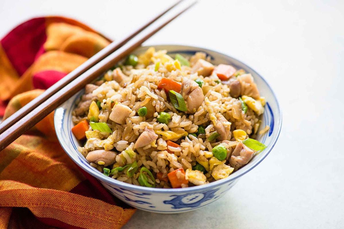 Жареный рис рецепты с фото